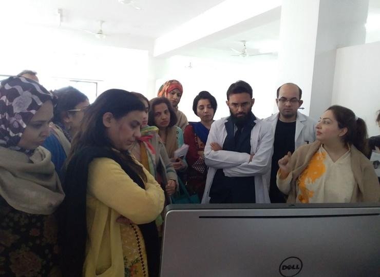Hands On Workshop on IUI - Multan