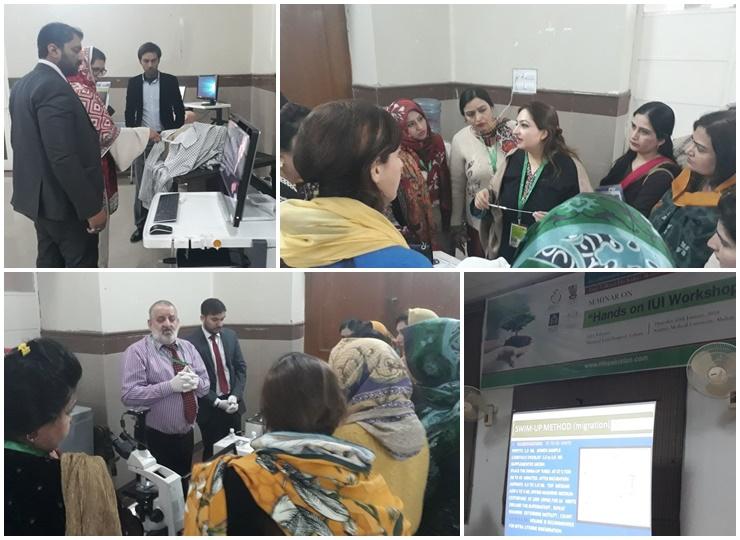 Hands On IUI Workshop in Multan